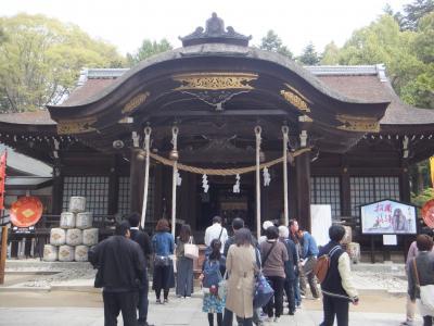 4月の甲府・・・・・①武田神社
