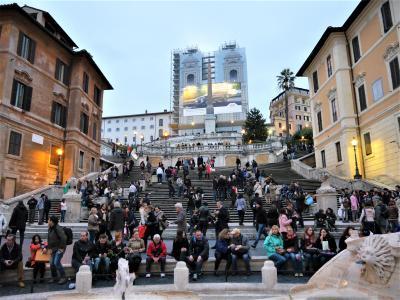 カタール航空Cクラスで行くイタリア周遊個人旅行 1 出発~ローマ