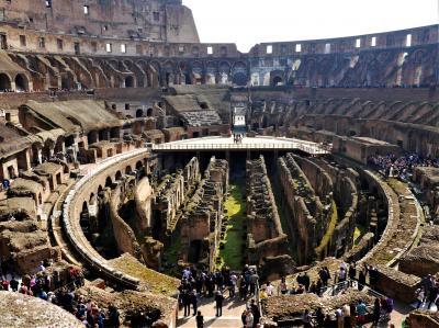 カタール航空Cクラスで行くイタリア周遊個人旅行 3 ローマ観光