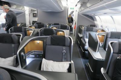 スカンジナビア航空 新ビジネスクラス搭乗記