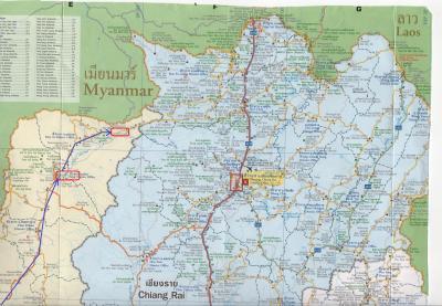 2016春・タイとラオスの北部野犬に吠えまくられの旅日記(5)ファーン→タートン