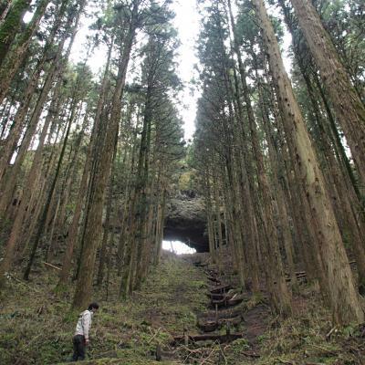 九州旅02 あの穴ナニ!? 上色見熊野座神社