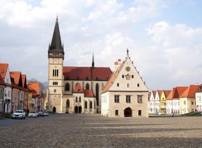 団塊夫婦のポーランド&スロバキアドライブ旅行・2016ー(4)中世のかわいい街並の残るバルデヨフへ
