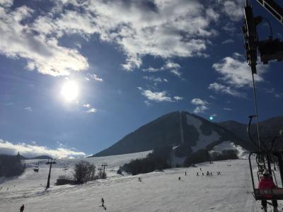1月だけど気分は春スキー