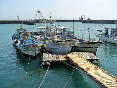 2016年 山口県宇部市 床波漁港で海を見ながらちょっと散歩