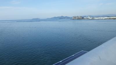 琵琶湖一周、雨で断念