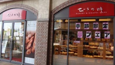 大阪アメニティパークの「セーヌの畔」で軽く昼食と思いましたが、胃が受け付けない。