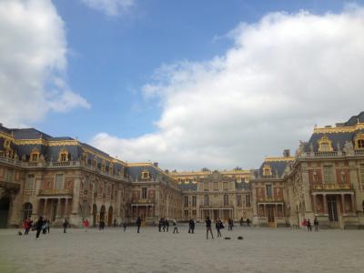 2016_3月 パリ旅行 3日目 (1)ヴェルサイユ宮殿