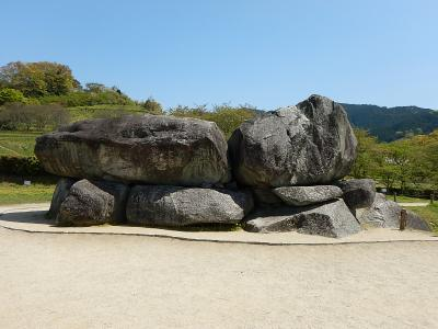 飛鳥:レンタサイクルでひたすら石を見る(飛鳥高野山1泊2日)