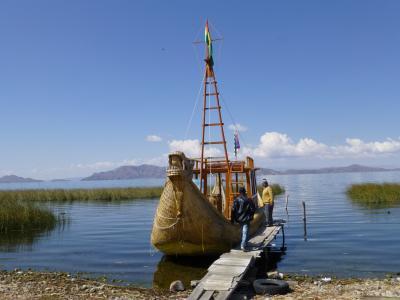 2015 ペルー・ボリビアの旅 6 チチカカ湖ボートクルーズ