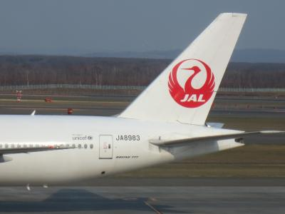 BA特典JALで行く東京2日間、SPGAMEX紹介のお返しに発券しました!