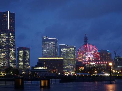みなとみらい:横浜ベイホテル東急泊
