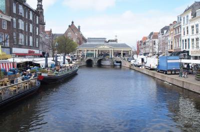 オランダの春、再び-キューケンホフへ 1-ライデン Leiden-