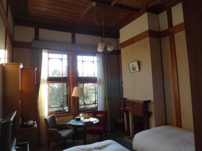 奈良ホテル・お部屋とお夕飯