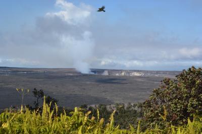 キラウエア火山に行く   2日目