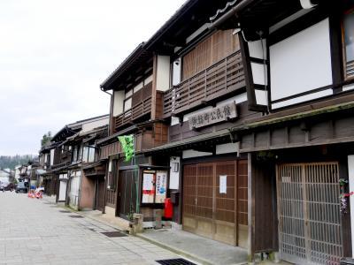 2016.4富山に白えびを食べに行く4-八尾へ,曳山展示館,諏訪町通り,城ヶ山公園