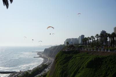 ペルー・リマ、街歩き編。ペルーの首都ではサーフィン、パラグライダーが出来る!