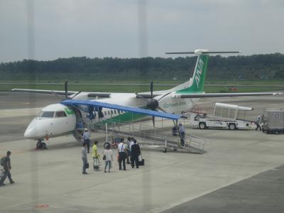 やってみよっかなぁ~っ…? 無計画に始まったANA/SFC修行(番外編)  …でもとりあえずプロペラ機に乗ってみたくて熊本へ・・・   なっなな何と、伊丹空港で元日本代表キャプテンに遭遇しちゃう強運の1日