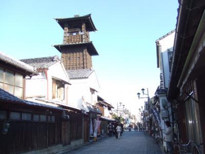 川越:蔵の街並み、大正浪漫通りを散策 2007/12/23