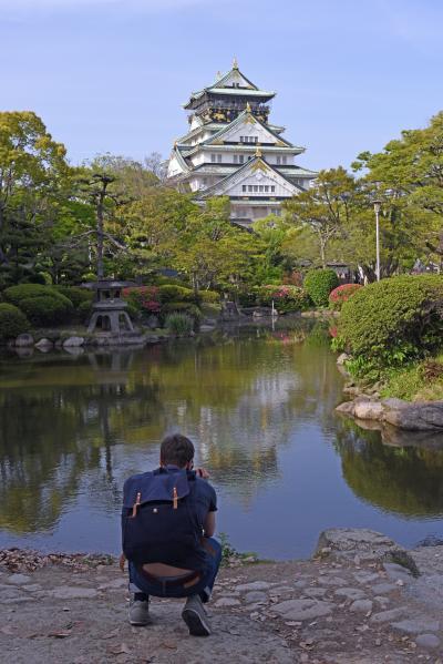 望郷三都物語(1) 秀吉の栄華の極み大阪城  今太閤ビルより眺むれば  気分はまさに天下人なり