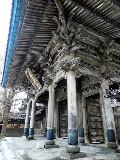 函館26 国華山高龍寺 市内最古の寺院 ☆本堂・山門など堂々と
