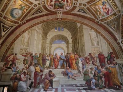 再びのイタリア、今度は親子で南イタリアへ 最終日、念願のバチカン博物館は素晴らしかった。 ①