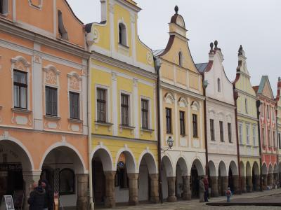 チェコの世界遺産⑨、モラヴィアの真珠といわれる、テルチ