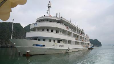 ハロン湾クルーズ 2泊3日 AUCO号の旅-1日目-