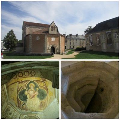 フランス最古の小さな洗礼堂、サン・ジャン洗礼堂