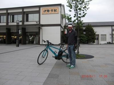 (2/2)電動自転車 パナソニック ジェッター 「東京~伊勢 367.4km」伊勢神宮