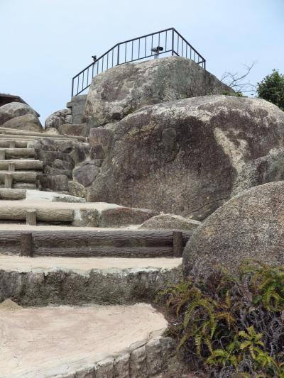 宮島-2 宮島ロープウェイで獅子岩展望台へ ☆瀬戸内海のパノラマ