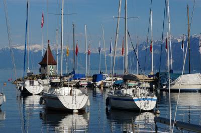 時計よ、止まれ!ゆったり流れるスイス時間を味わいに。。。 (3) Les Avantsでハイキングの後は「レマン湖の花」モルジュのチューリップ祭りへ