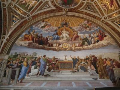 再びのイタリア、今度は親子で南イタリアへ  最終日、 念願のバチカン博物館はすばらしかった ②