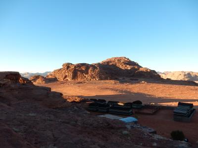 ヨルダン・イスラエル年末年始2015−2016旅行記 【22】ワディ・ラム5(砂漠キャンプ2)
