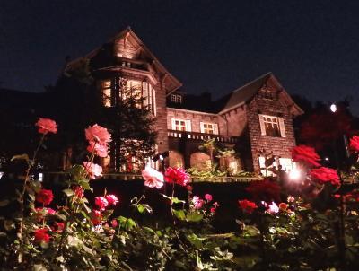 あらかわ遊園~旧古河庭園【春バラと洋館のライトアップ】 バラを愛でる都電さんぽ♪
