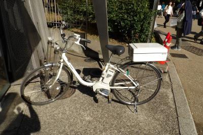 警視庁上野公園派出所の自転車
