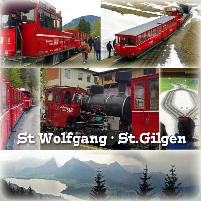 GW、ザルツブルクとザルツカンマーグート、電車とバスの旅4- ハルシュタット、バードイシュル、ザンクト・ウォルフガング、シャーフベルク登山鉄道、ヴォルフガング湖遊覧船、ザンクト・ギルゲン、日帰り観光後編-