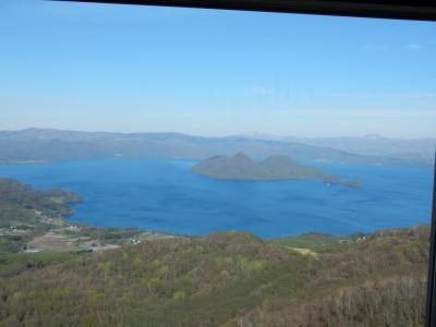 日本100名城巡り 北海道編初日 支笏湖・洞爺湖