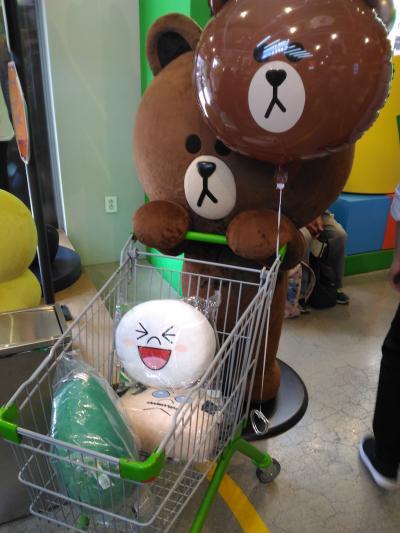 ソウルの 『LINE FRIENDS STORE (ラインフレンズストア)』 にブラウンに会いに行く、 1泊2日弾丸旅行!