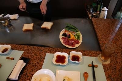 旅するイルカ♪ 和歌山県 和歌浦 鉄板焼きランチへ