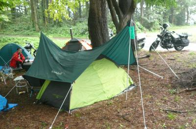 キャンプツーリング in 新潟