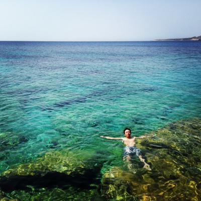 クレタ島 ハニア エラフォ二シ海岸