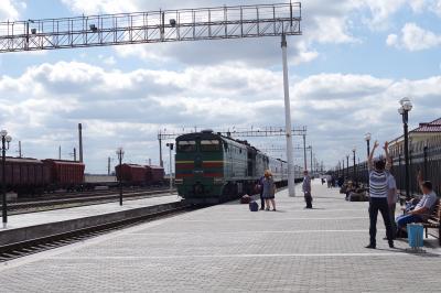2016GWウズベキスタン一人旅 3日目*夜行列車でサマルカンドへ移動*