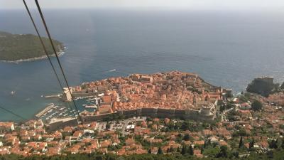 ツアーで巡る念願のクロアチア方面10日間 5日目 ストーン・ドブロブニク