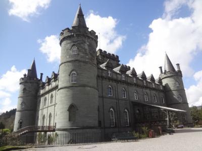2016年英国紀行-8-エジンバラ発ツアー、ドゥーン城などの城巡りとローモンド湖