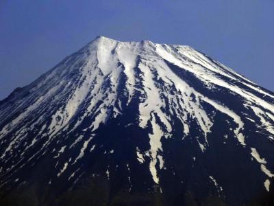 02.晩春の朝の富士山