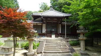 服部緑地 緑化植物園近くの観音寺の参拝。