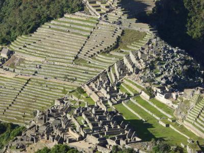 思いのままに旅するペルー(4) 山の上に築かれたマチュピチュ遺跡をワイナピチュから見おろす感動
