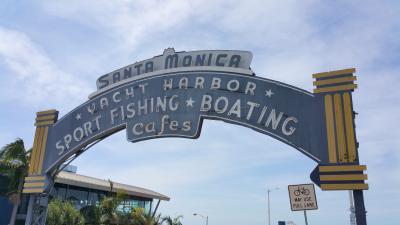 西海岸へ ~サンタモニカからデル・マーへ~