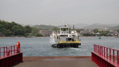 向島歌港の「渡し船」